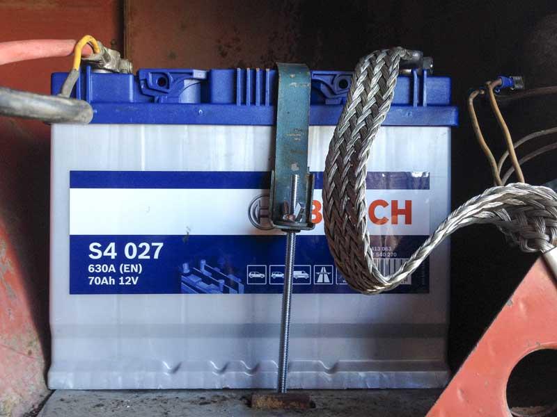 new Bosch S4 12v 70Ah starter battery