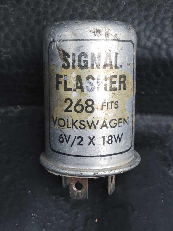 6v indicator relay (6v – 2x 18w)