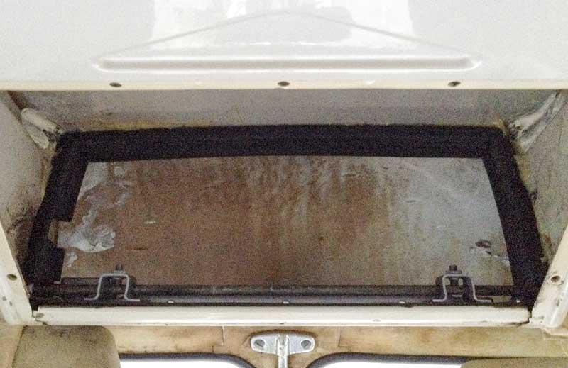 German quality air box inner foam seal glued in place
