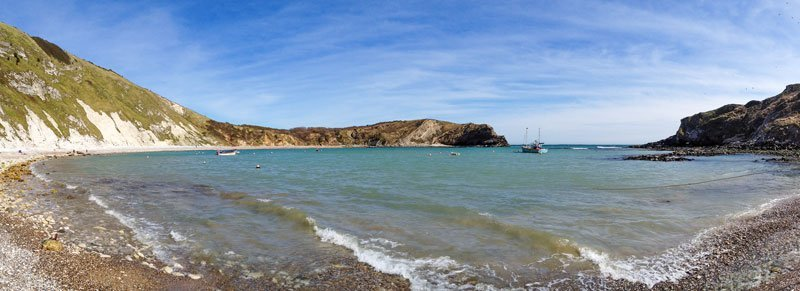 Lulworth cove, not a bad view whilst having a spot of lunch