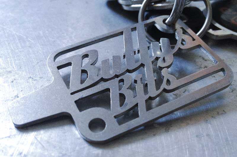 handy Buttys Bits key ring stainless church key key ring/Fuel flap opener
