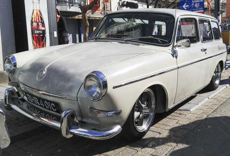 beautifully aged Type 3 squareback