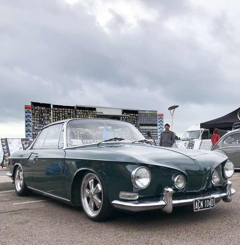 super sharp looking type 34 Karmann Ghia Razorback