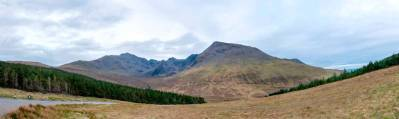 the epic Cuillin Mountain backdrop to the Fairy Pools
