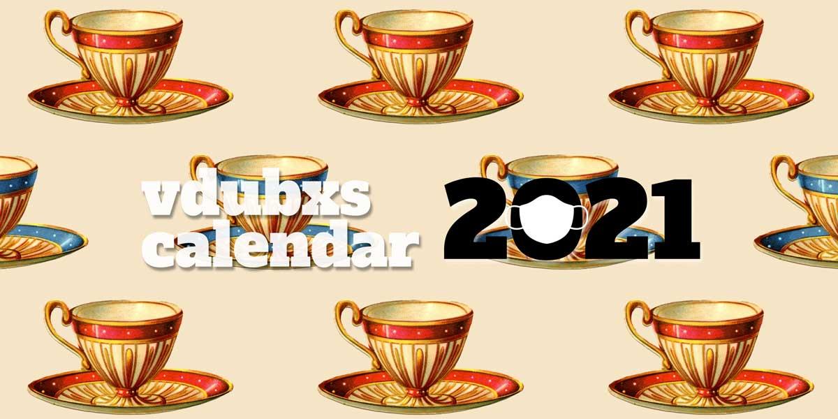 FREE 2021 vdubxs calendar