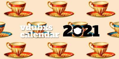 Get the free new funky 2021 vdubxs calendar