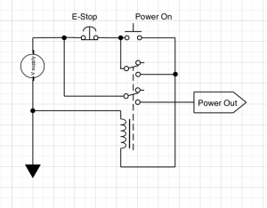 An Emergency Stop Circuit with EMC2 | Mad Penguin Labs