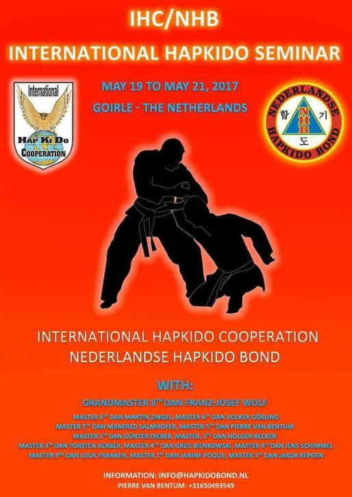 IHC/NHB INTERNATIONALE HAPKIDO SEMINAR 2017