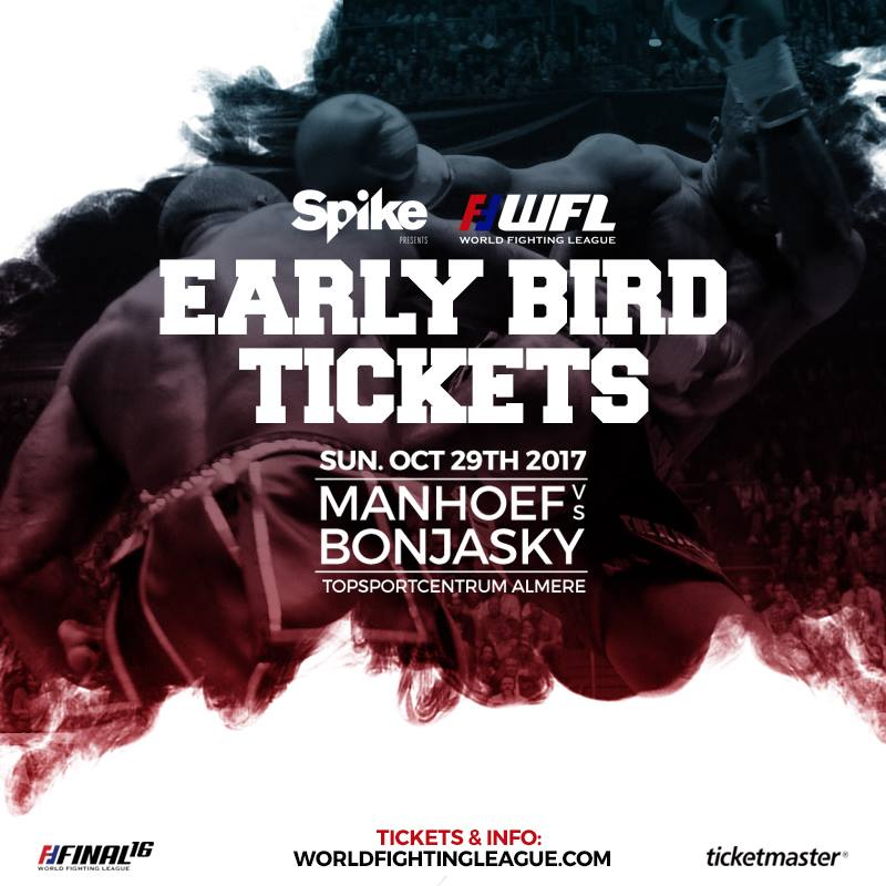 World Fighting League Final 16 Early Bird Tckets Actie