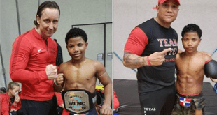 Nederlands 13 jarig kickboks talent Jursly Carlos Susana grote hit op social media!