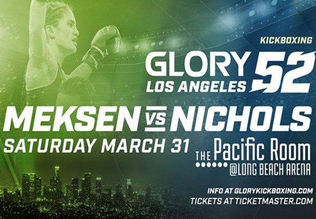 Anissa Meksen treft Ashley Nichols tijdens GLORY 52