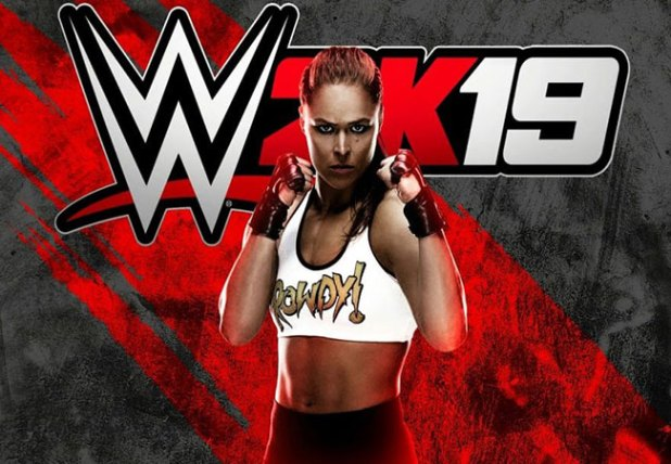 Ronda Rousey in WWE 2K19 Game voor PlayStation 4, Xbox One en PC