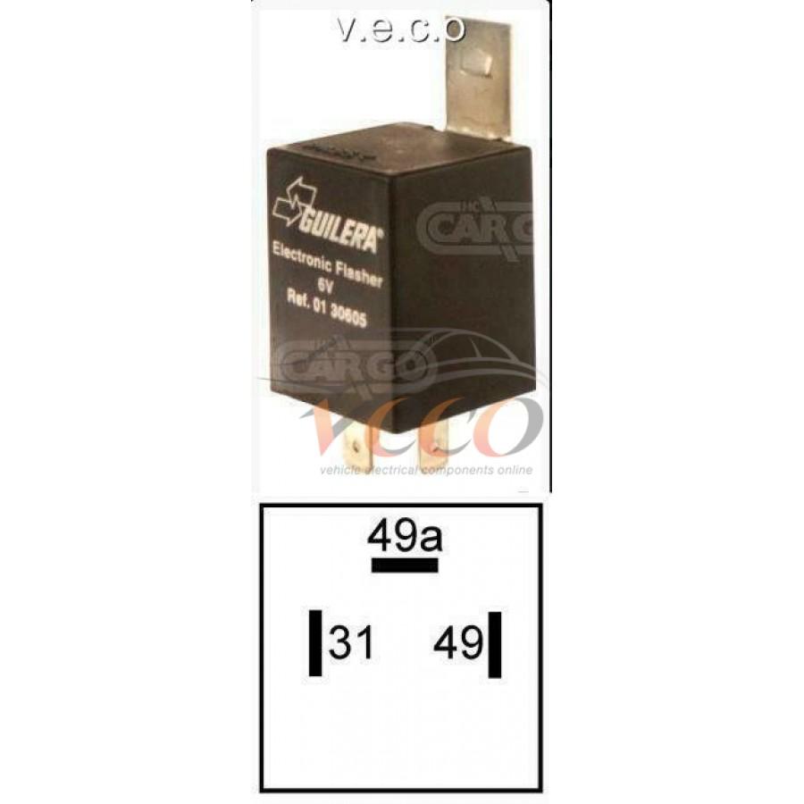 6 Volt Flasher Unit