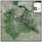 Satellietkaart Utrecht
