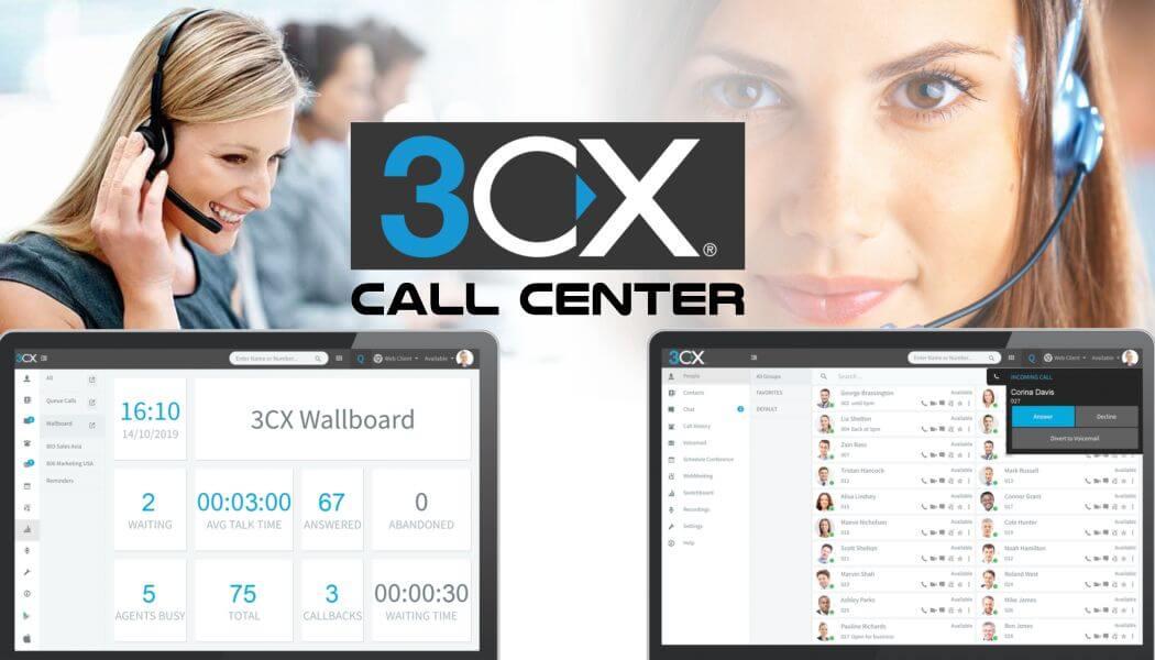 3cx call center system dubai