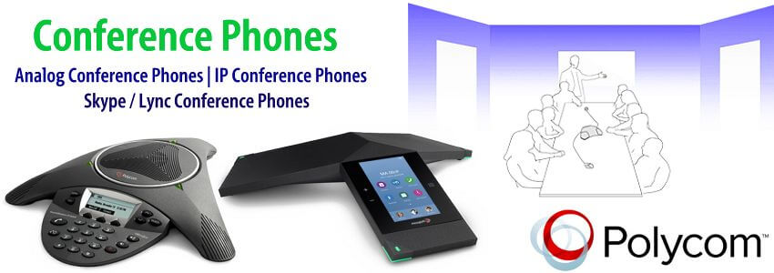 Polycom Conference Phone Dubai | IP& Analog Conference Phones UAE