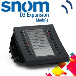 Snom-D3-Expansion-Module-Dubai-UAE