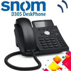 Snom-D305-Desk-Phone-Dubai-UAE