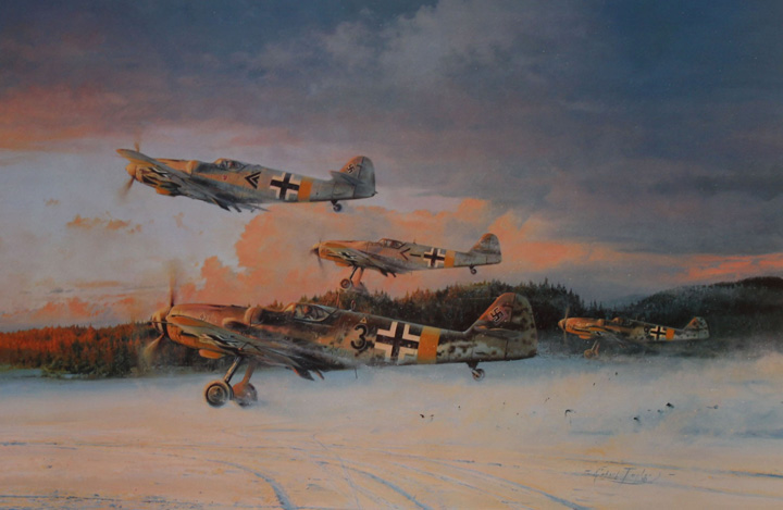 Eagles at Dawn by Robert Taylor