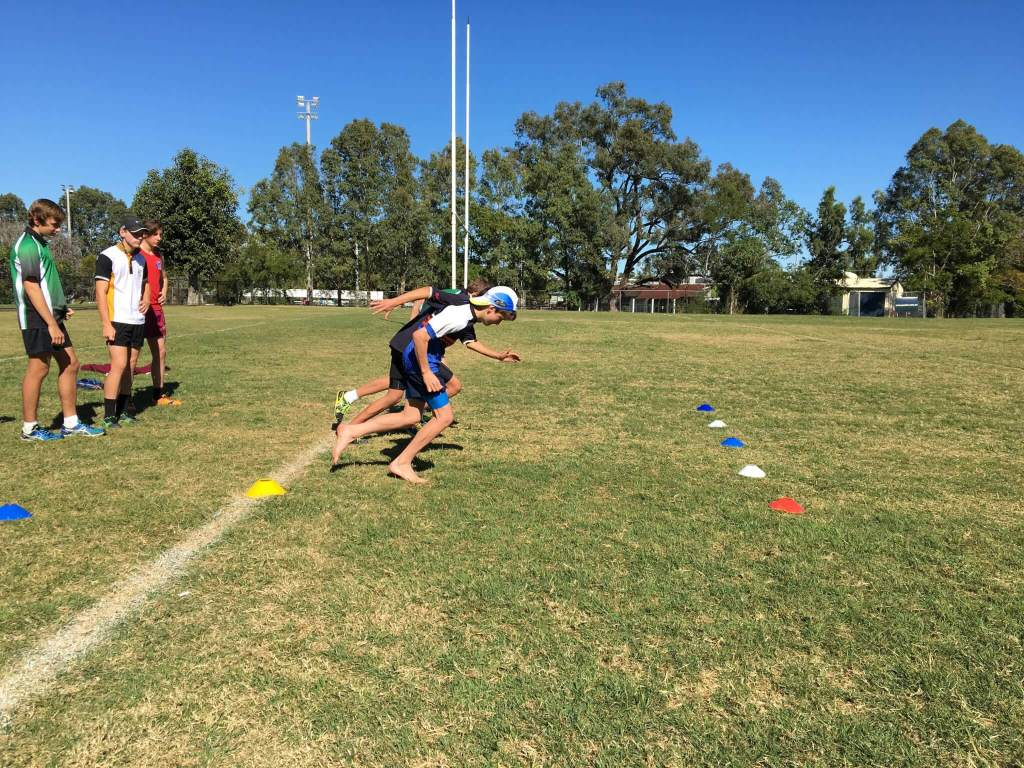 Speed Training at Vector Health in Rockhampton