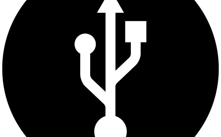 usb circular symbol