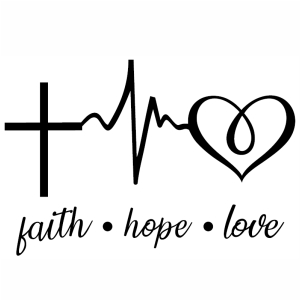 Download Faith Hope Love Heartbeat vector Download | Faith Hope ...