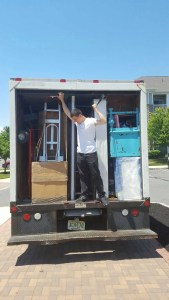 Truck all packed and loaded, and your belongings all safe and secure with Vector Movers NJ.