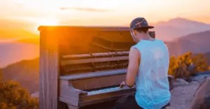 Pianos are extremely sensitive and you should only move them outside when they're in the hands of a reliable moving company.