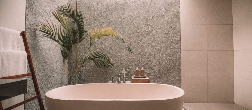 Image of a modern bathroom