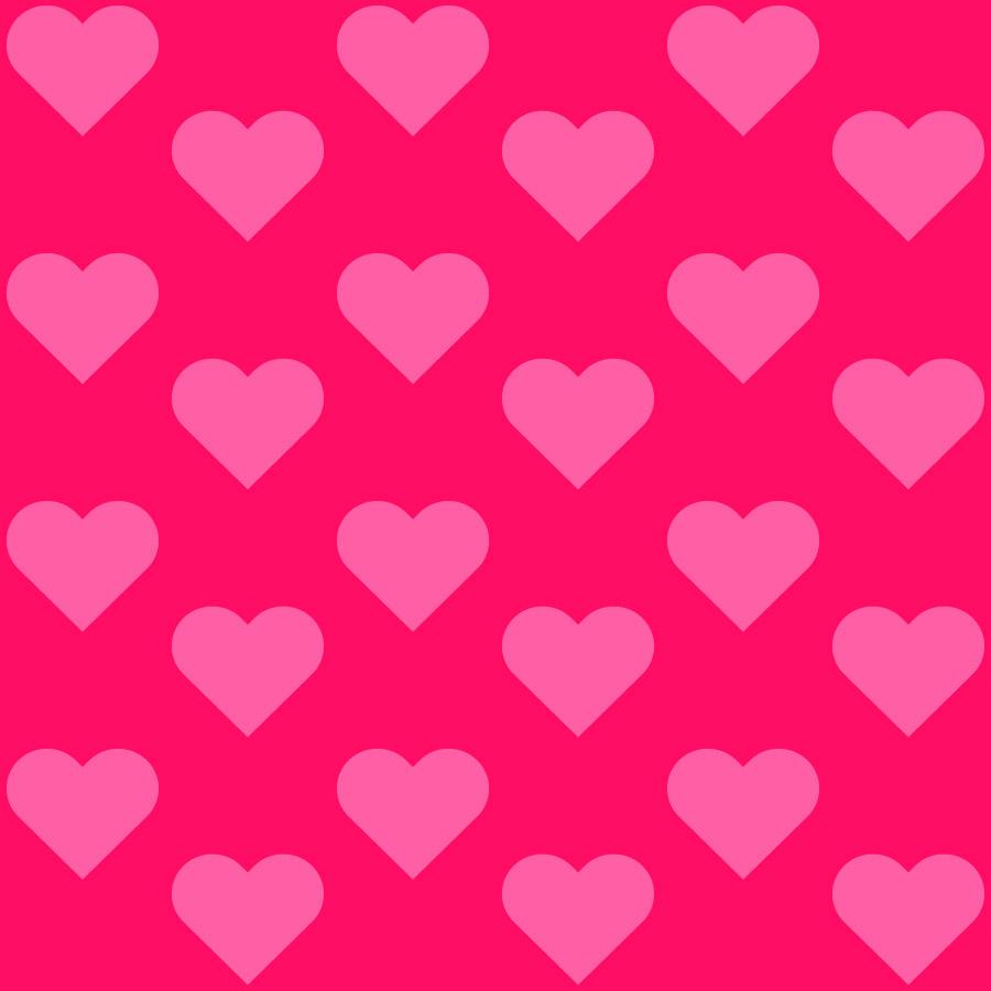 Seamless Heart Backgrounds Vector Tiles