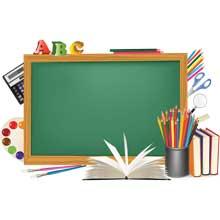 Скачать векторную картинку Школа #12 бесплатно!