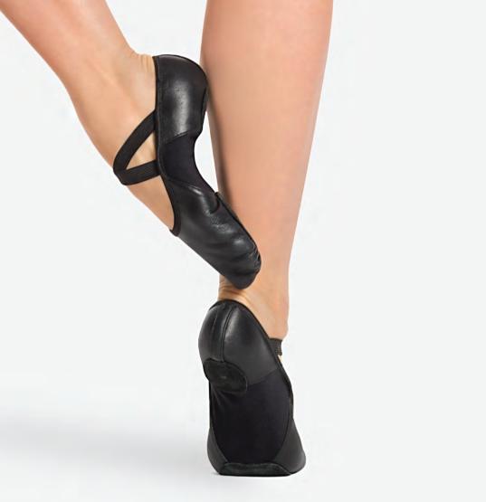 Tan Canvas Ballet Shoes