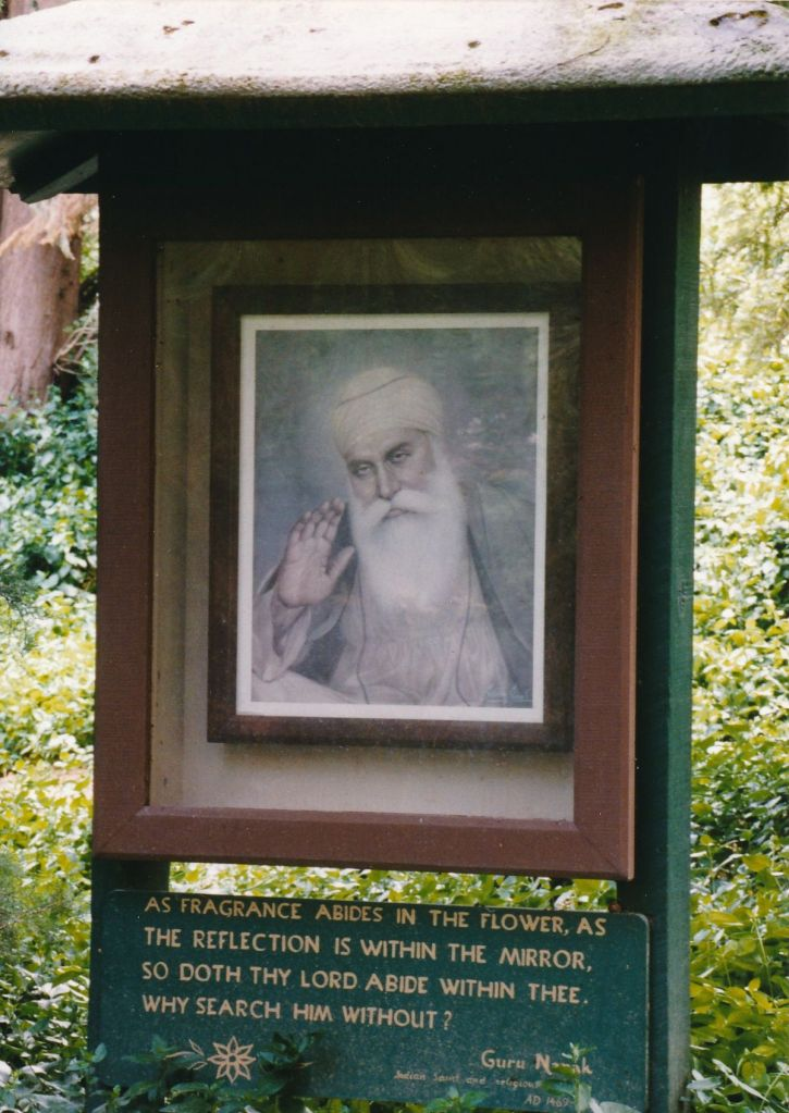 7 - Vedanta Society of Sacramento - Garden of Saints - Guru Nanak 3