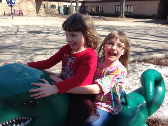 Riding Dinosaurs is Fun