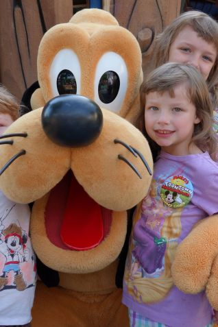 Pluto with Kids