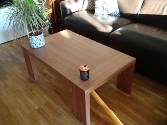 Table basse de salon en sipo