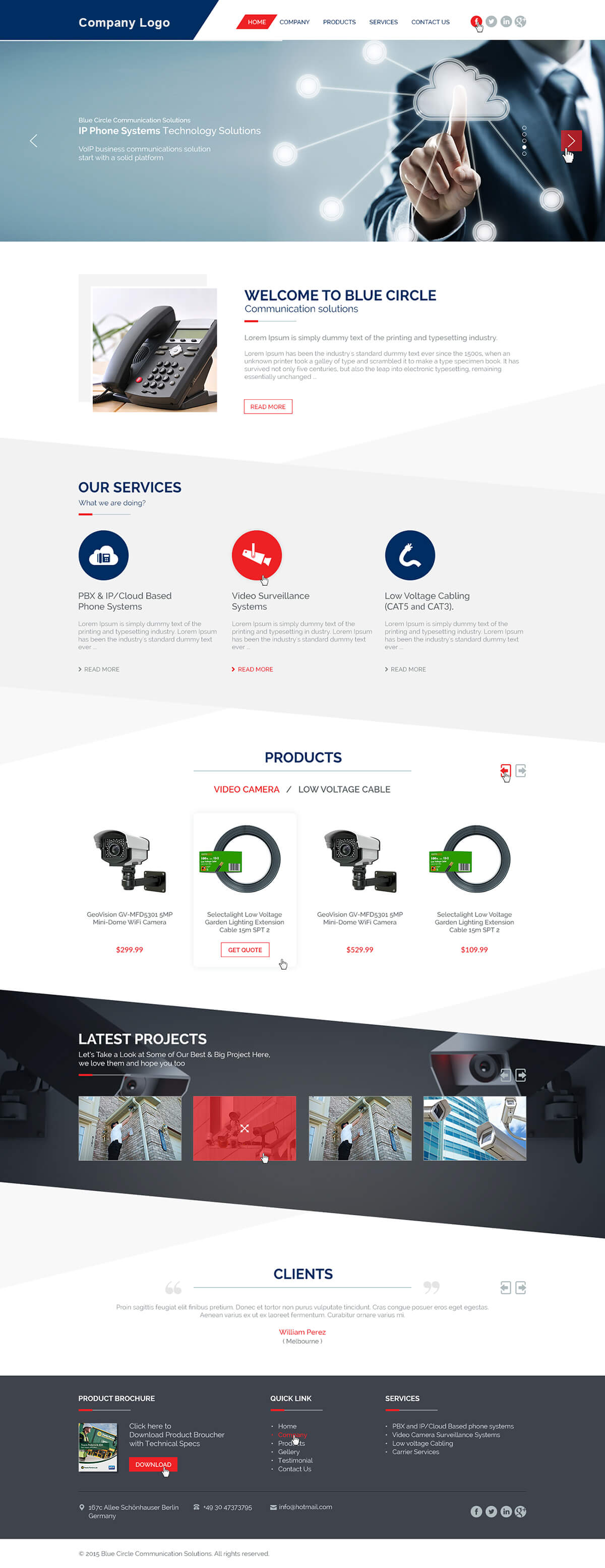 Small Business Website Template