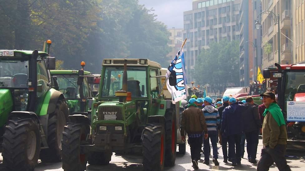 10 000 boeren doen mee aan agractie
