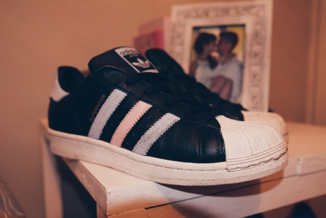 May Favourite adidas Superstar sneakers