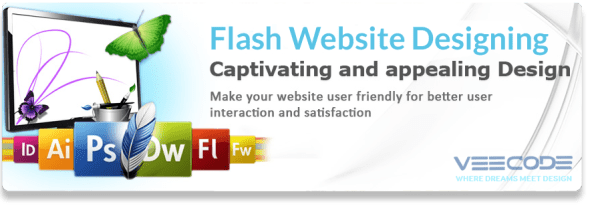 Veecode flash website designing