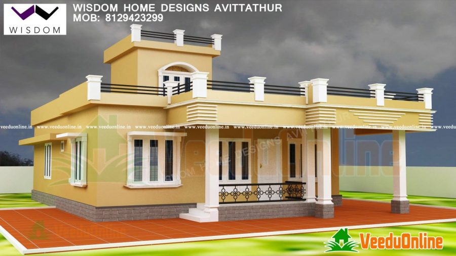 Beautiful Home Design Home Plan 1300 sq ft