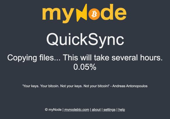 myNode QuickSync Copy