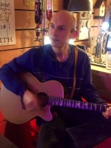 Veendammerman op gitaar