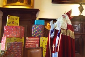 In het huis van Sinterklaas
