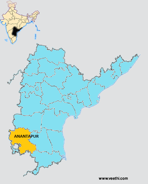 map of anantapur district