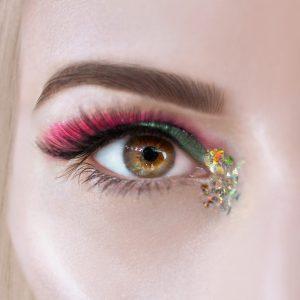 Glitter Cream Mermaid, Pink Eyeshadow