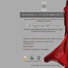 Sfilata cruelty-free a Milano domenica 15 settembre