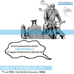 """""""Sidecar Smilla"""": un viaggio nell'Italia dei cani abbandonati"""