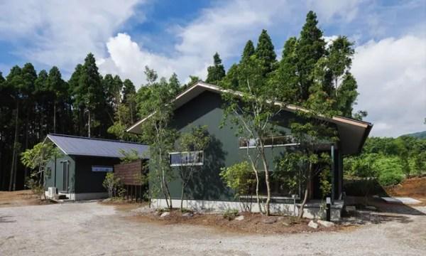 二つの屋根の家