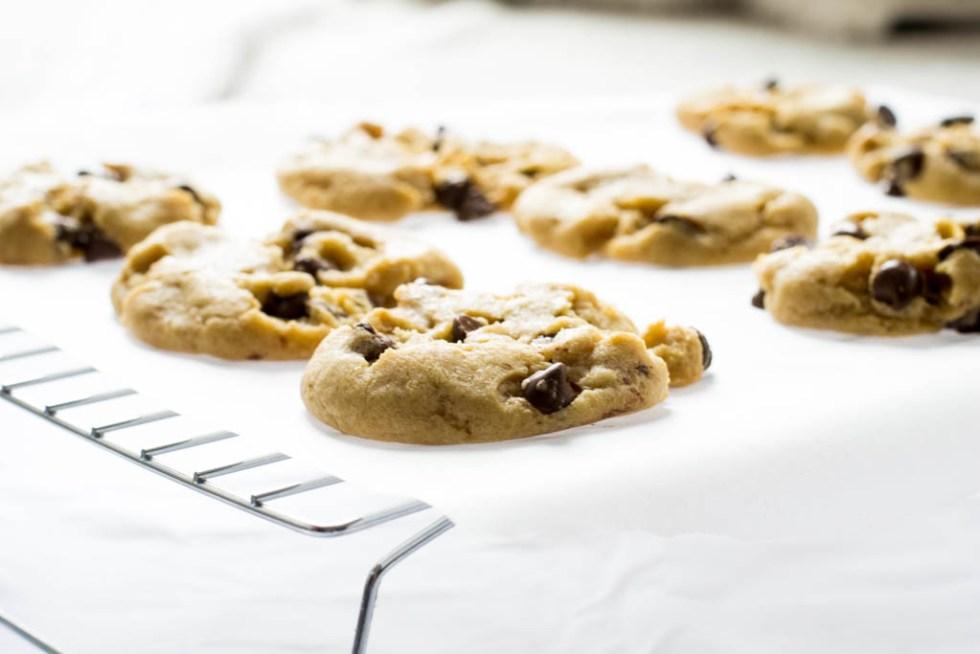 Award-winning vegan chocolate chip cookies recipe. Try them today! #recipeideas #chocolatechipcookies #veganrecipes